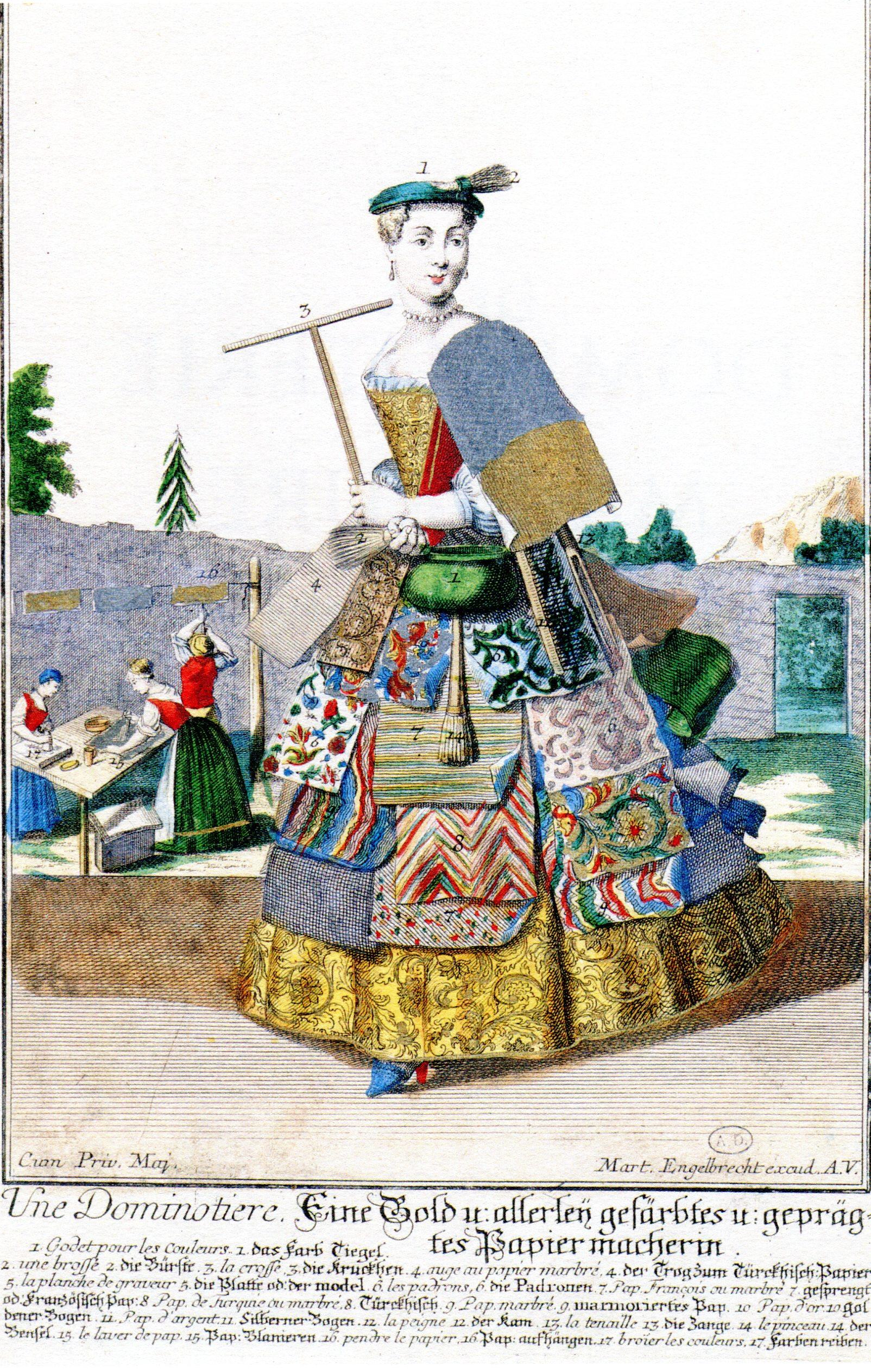 La Dominotière au XVIII° siècle
