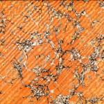 Caillouté Ombré Orange