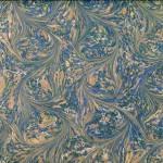 Caillouté Flou Bleu