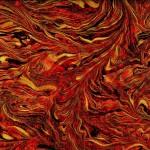 Feuillage Rouge Doré