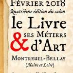 Affiche du salon de Montreuil Bellay 2018